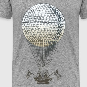 Vintage transport air balloon T-Shirts - Men's Premium T-Shirt