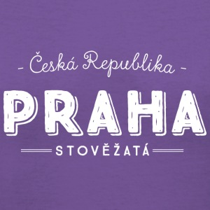 Prague Women's T-Shirts - Women's V-Neck T-Shirt