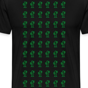 Cactus Planet - Men's Premium T-Shirt