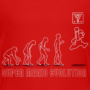 Mario Evolution Kids' Shirts - Kids' Premium T-Shirt