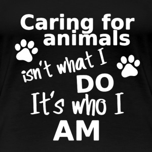 Caring Animals Shirt - Women's Premium T-Shirt