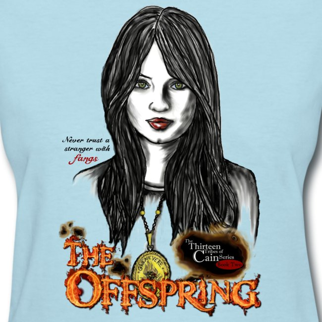 """""""The Offspring"""" 13 Tribes of Cain book t-shirt"""