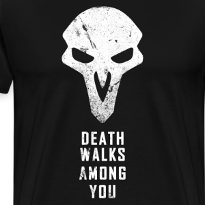 Death Walks - Men's Premium T-Shirt