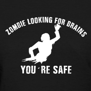 Zombie brains Women's T-Shirts - Women's T-Shirt