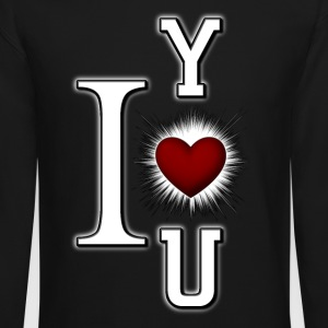 I Love You Womens Crewneck Sweatshirt - Crewneck Sweatshirt