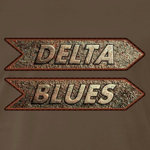 delta blues rusty - Men's Premium T-Shirt