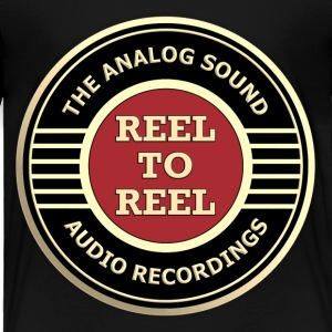 analog reel recording - Toddler Premium T-Shirt