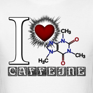 I Love Caffeine Mens T-Shirt - Men's T-Shirt