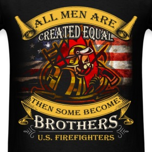 Firefiighters - US Firefighters - Men's T-Shirt