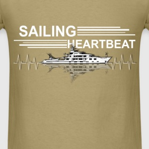 Sailing - Heartbeat - Men's T-Shirt