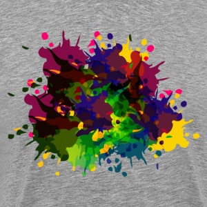 Beautiful celebration abstract - Men's Premium T-Shirt