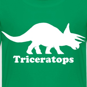 Custom Triceratops Dinosaur Baby & Toddler Shirts - Toddler Premium T-Shirt