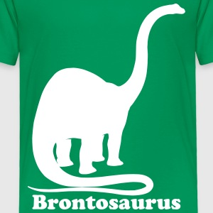 Custom Brontosaurus Dinosaur Baby & Toddler Shirts - Toddler Premium T-Shirt