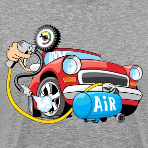 Air filling car service art - Men's Premium T-Shirt