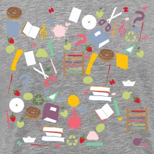 Different school symbols mix T-Shirts - Men's Premium T-Shirt