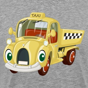 Amusing cartoon car creative design T-Shirts - Men's Premium T-Shirt