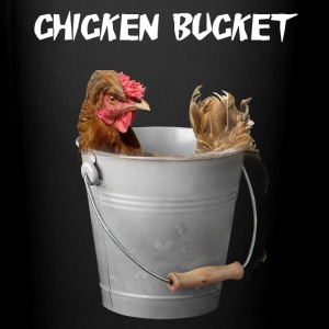 Chicken Bucket Mug Black - Full Color Mug