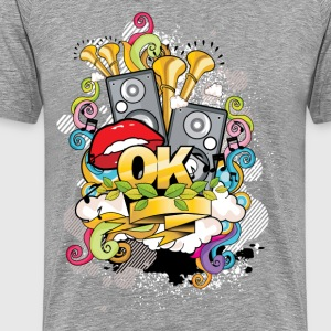 Creative music style design T-Shirts - Men's Premium T-Shirt