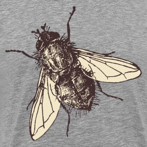 Fatty housefly art T-Shirts - Men's Premium T-Shirt