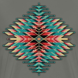 Native Beaded Sunburst 02 - Men's Premium T-Shirt