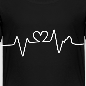 heart beat Baby & Toddler Shirts - Toddler Premium T-Shirt