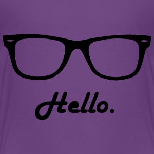hipster glasses Baby & Toddler Shirts - Toddler Premium T-Shirt