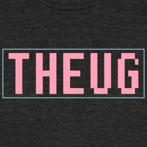 THEUG PINK x BLUE T-Shirts - Unisex Tri-Blend T-Shirt by American Apparel
