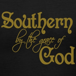 Southern by the Grace of God - Women's V-Neck T-Shirt