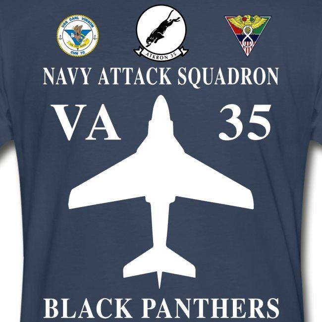 VA-35 BLACK PANTHERS w/ USS CARL VINSON