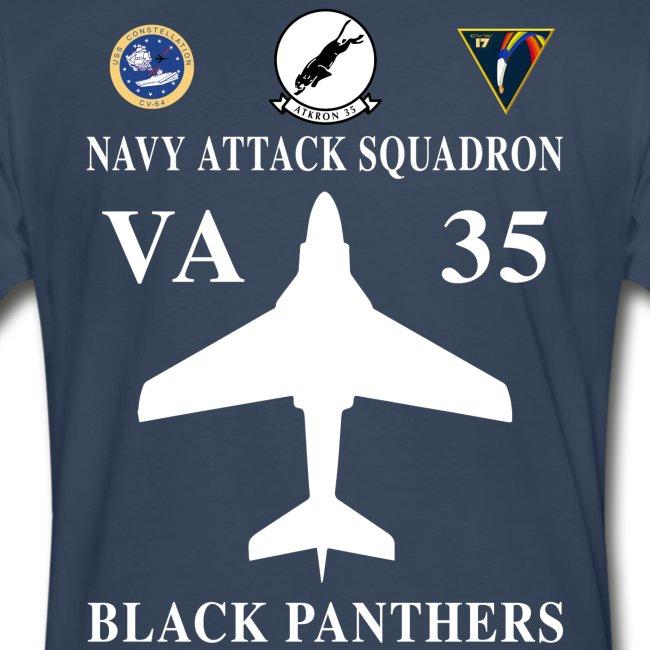 VA-35 BLACK PANTHERS w/ USS CONSTELLATION
