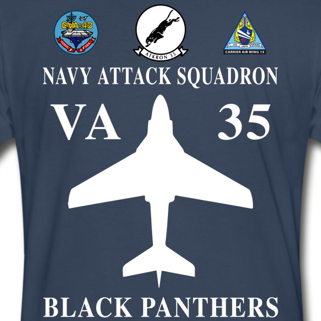VA-35 BLACK PANTHERS w/ USS CORAL SEA CVA-43
