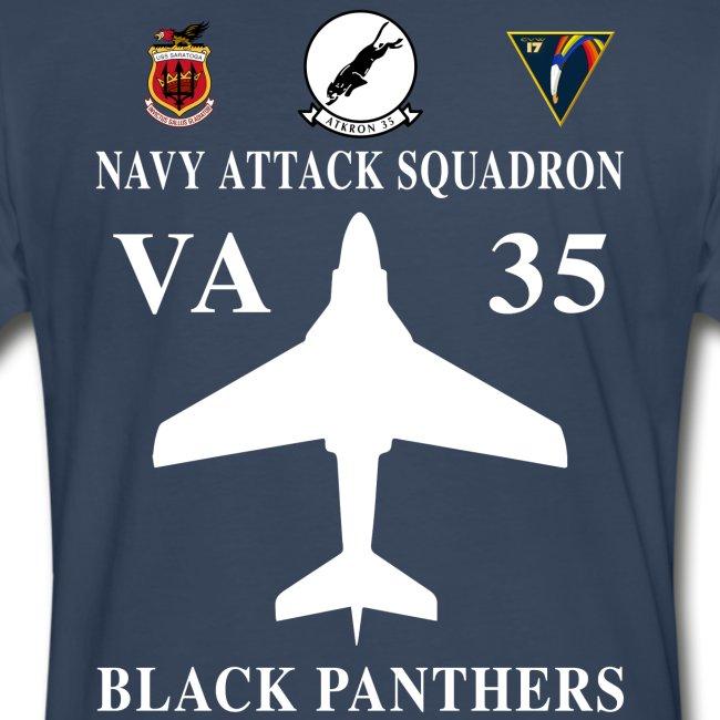 VA-35 BLACK PANTHERS w/ USS SARATOGA