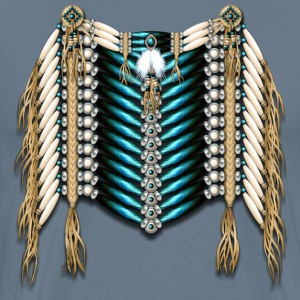 Native American Breastplate - 02 - Men's Premium T-Shirt