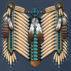 Native American Breastplate - 01 - Men's Premium T-Shirt