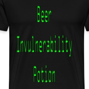Beer invulnerability potion  - Men's Premium T-Shirt