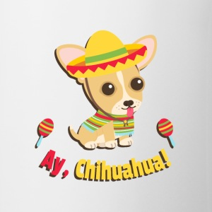 Ay Chihuahua Cute Fiesta Mugs & Drinkware - Coffee/Tea Mug