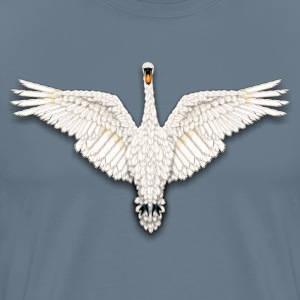 Beadwork Swan - Men's Premium T-Shirt