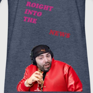 Keemstar Roight into the news - Fitted Cotton/Poly T-Shirt by Next Level