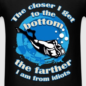 Scuba Diving - Farther - Men's T-Shirt