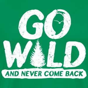 Go wild - Men's Premium T-Shirt