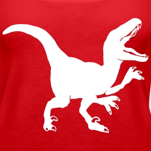 Custom Raptor Dinosaur Graphic Tanks - Women's Premium Tank Top