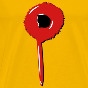 Blob drip blood bullet T-Shirts - Men's Premium T-Shirt