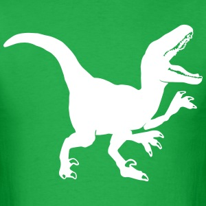 Custom Raptor Dinosaur Graphic T-Shirts - Men's T-Shirt