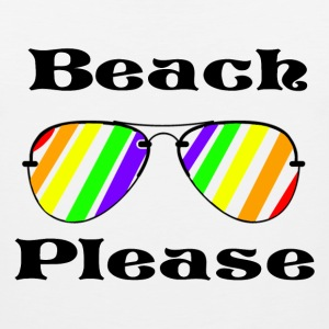 Beach Please Tank - Men's Premium Tank