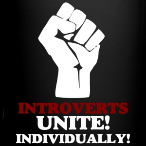 Introverts Unite (dark) v2 Mugs & Drinkware - Full Color Mug