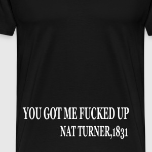 NAT TURNER - Men's Premium T-Shirt