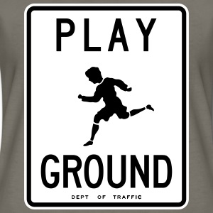 Retro NYC Playground Sign Women's T-Shirt - Women's Premium T-Shirt