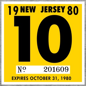 NJ 1980 T-Shirts - Men's Premium T-Shirt