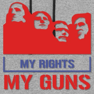 My Rights My Guns Hoodies - Colorblock Hoodie