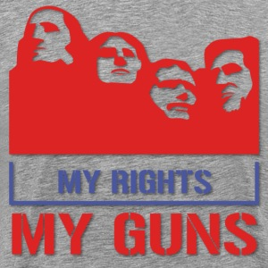 My Rights My Guns T-Shirts - Men's Premium T-Shirt